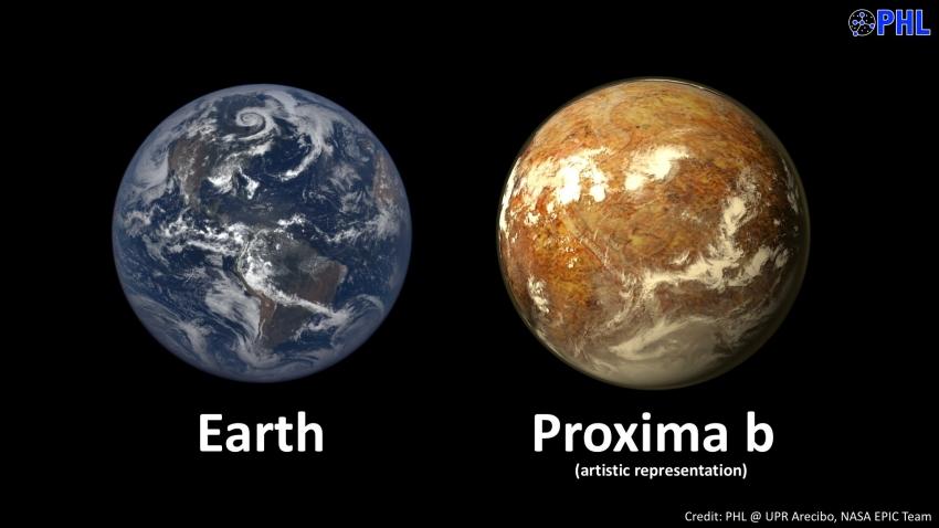 Detectan la señal de lo que podría ser un planeta habitable en Alfa Centauri