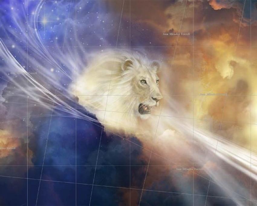 El león está rugiendo