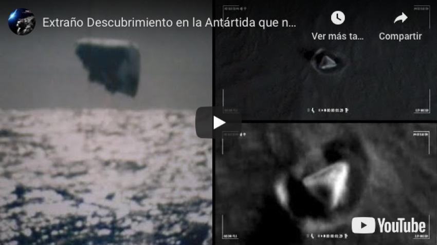 Extraño descubrimiento en la Antártida